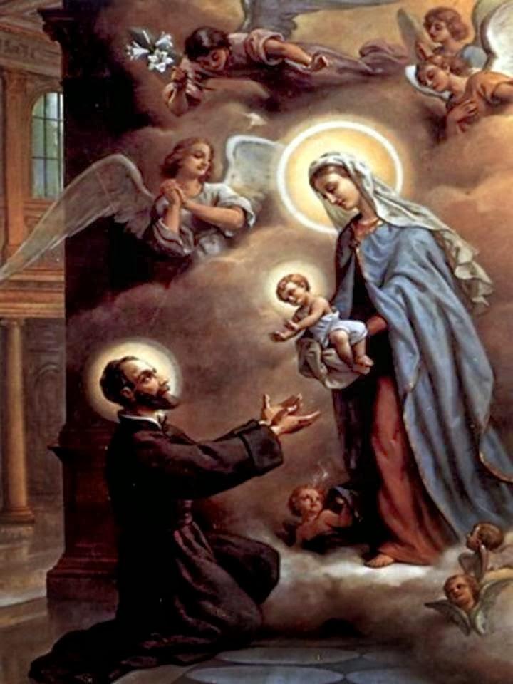 Resultado de imagen para san cayetano y el niño jesus