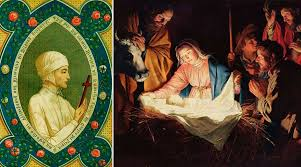 Resultado de imagen para santa brígida de Suecia y la visión de la navidad