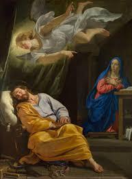 Resultado de imagen para san jose piensa abandonar a  la Virgen María