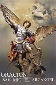Resultado de imagen para bella oración a san miguel arcángel