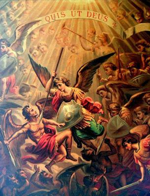 VADE RETRO SATANA: Apariciones de San Miguel Arcángel