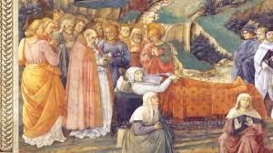 Entierro de la Santísima Virgen y prodigios, Revelación de Sor ...