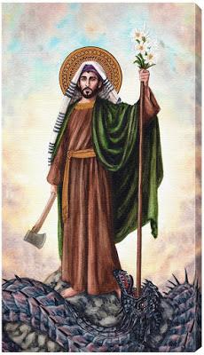 Firmes en Cristo. : Oración a San José en la Lucha contra los poderes de  las tinieblas